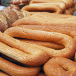 Loafs of long bagels — Stock Photo #1808364