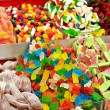Stock Photo: Colorful candies on market stand