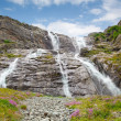 Stock Photo: Beautiful waterfall; SofiFalls, arkhyz, karachay–cherkessia