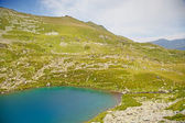 Alpine lake. — Foto Stock