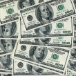 United States dollars, abstract background — Stock Photo