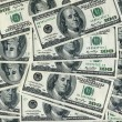 Stock Photo: United States dollars, abstract background
