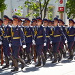 SEVASTOPOL, UKRAINE -- MAY 9: Victory Parade. Celebration of the — Stock Photo