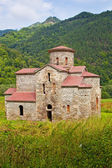 The oldest Orthodox church in Russia. Arkhyz. — Stock Photo