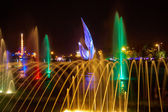 QINHUANGDAO, CHINA - SEPTEMBER 01: Singing fountains in the Olym — Stock Photo