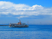 Ferry from the Asian side — Stock Photo