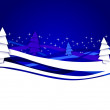 Royalty-Free Stock Imagen vectorial: Christmas and new year background