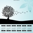 Calendar 2013 - Stock Vector