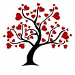 Love tree — Stock Vector #18895633