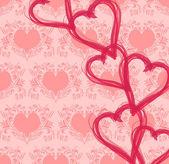 Alla hjärtans — Stockvektor