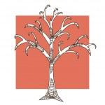 Decorative tree — Stock Vector