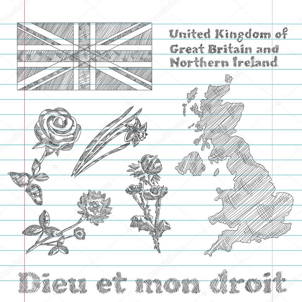 Irlandii Północnej Flaga Irlandii Północnej Flaga