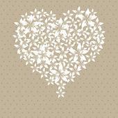 Valentine's day invitation — Stock Vector