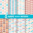 Seamless patterns — Stock Vector #48025213