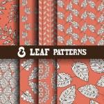 Seamless patterns set — Stock Vector #48375003
