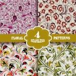 Seamless patterns set — Stock Vector #48375007