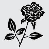 Decorazione floreale — Vettoriale Stock