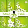 Eco cards set — Stock Vector #49131013