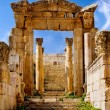 Ancient arch of Artemis Temple — Stock Photo #2055071