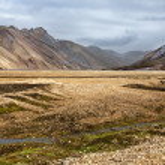 The colorful rhyolite mountains of Landmannalaugar, Iceland — Stock Photo