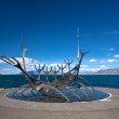 Stock Photo: Solfar Suncraft Sculpture (Sun Voyager)