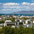 Aerial view of Reykjavik — Stock Photo #21904397