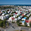 Royalty-Free Stock Photo: Aerial view of Reykjavik