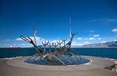 Solfar Suncraft Sculpture (Sun Voyager) — Stock Photo