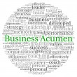 Business Acumen concept in word tag cloud on white background — Stok fotoğraf