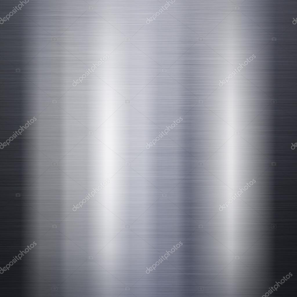 Brushed metal aluminum background or texture — Stock Photo #13421426