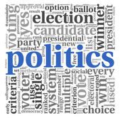 Plitics and vote concept — Stock Photo