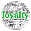 Customer loyalty concept - Stock Photo