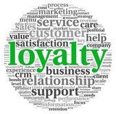 Customer loyalty concept — Stock Photo
