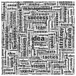 Idea concept words in tag cloud — 图库照片