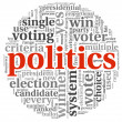 Plitics and vote concept - Stock Photo