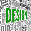 Foto de Stock  : Design concept in tag cloud