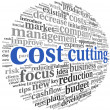 Costs cutting concept — Stock Photo #21710031
