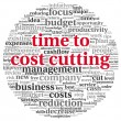 Focus on costs cutting concept — Stock Photo #22872682
