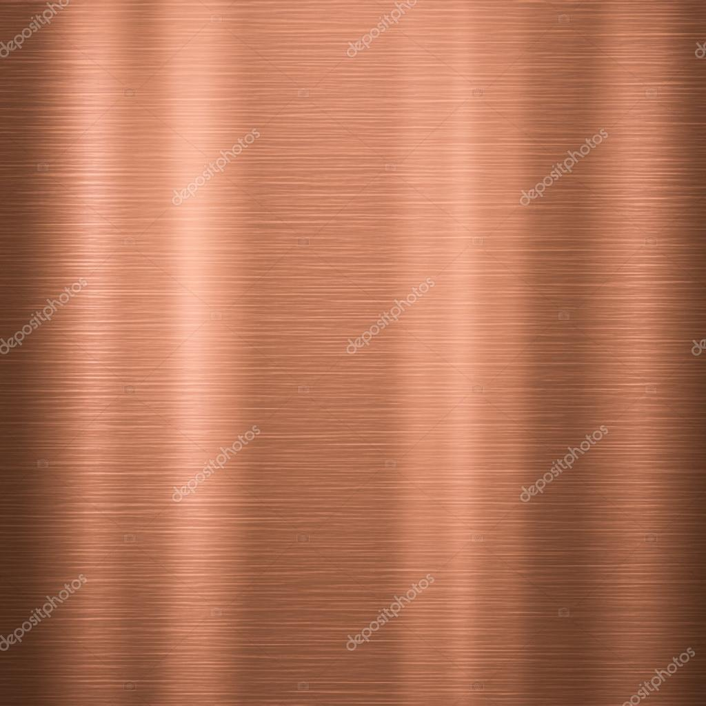 Texture of Brushed Copper