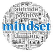 Mindset concept in tag cloud — Stock Photo