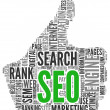 Search engine optimization SEO concept — Stockfoto