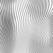 Aluminum silver stripe pattern — Stock Photo