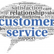 Customer service concept in word cloud — Stock Photo #28191465