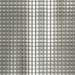 Metal silver checked pattern — Stock Photo #28191655