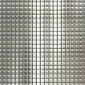 Metal silver checked pattern — Stock Photo