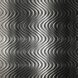 Aluminum silver stripe pattern — Stock Photo