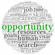 Stock Photo: Opportunity and success concept