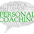 Personal coaching concept related words — Stock Photo