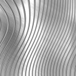 Metal background of silver striped pattern — Stock Photo