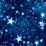 Christmas blue stars background — Stock Photo